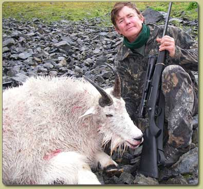 Guided Mountain Goat Hunts