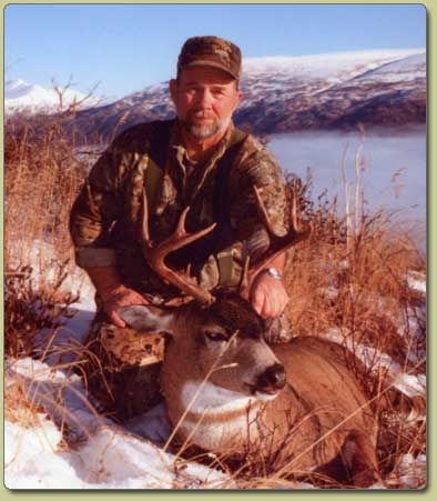 Black-tailed Sitka Deer hunting